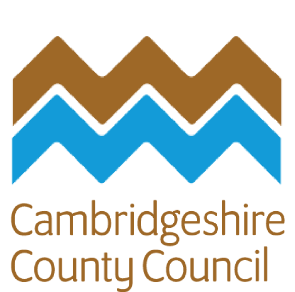 Cambs County Council logo.